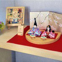 プリンセス雛人形 木目込み人形 彩桜 初音雛 68,000円