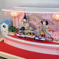 プリンセス雛人形 二人の親王ケースセット 59,800円~99,800円(消費税込み・送料無料)